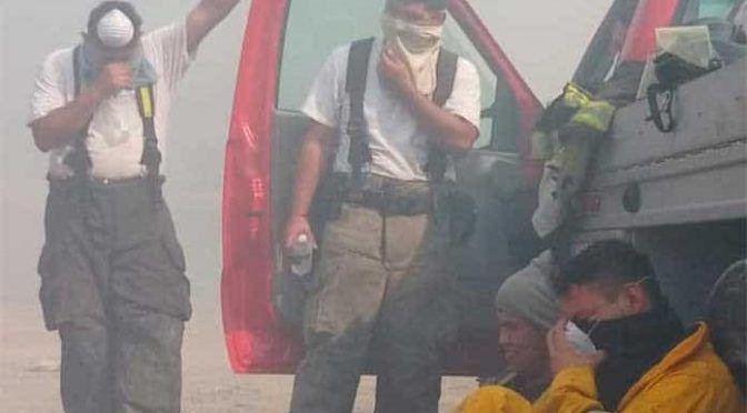 San Luis Potosí: Falta agua para combatir incendios en Valles (Pulso)