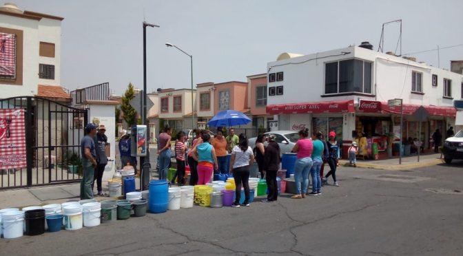 Temoaya: Dejan sin agua a habitantes (MILENIO)