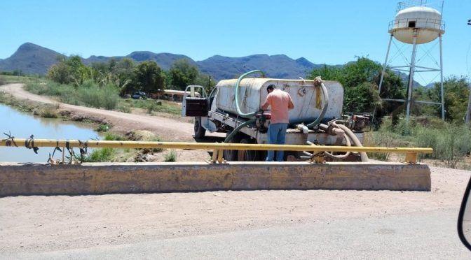 Los Mochis: Ven posible solución a problemas de suministro de agua en Tabelojeca (Debate)