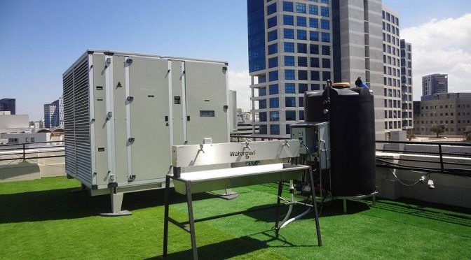 Tel Aviv, centro de innovación donde logran convertir el aire en agua (El Universo)