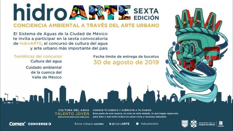 Cultura del agua y Arte Urbano en la Ciudad de México.