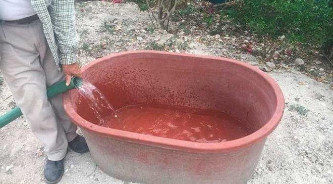 San Luis Potosí: En Las Palmas tienen más de un mes sin agua (Pulso)