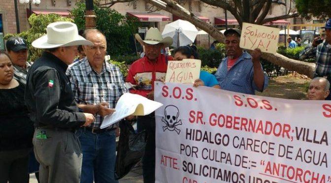 San Luis Potosí: habitantes de Villa Hidalgo se quejan por falta de agua potable (Pulso SLP)