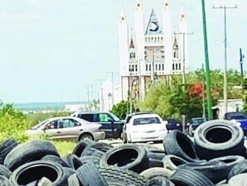 Tamaulipas: Crean 'cementerios' ilegales de llantas (El mañana)