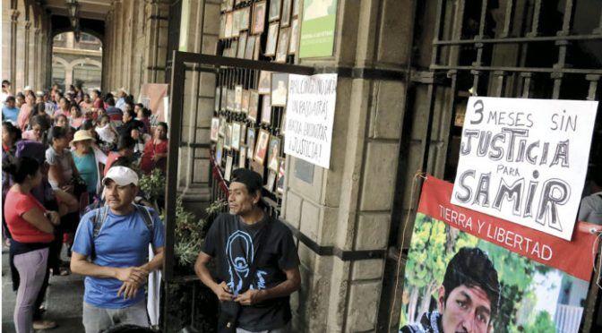 Morelos: en asesinato de Samir ocultan verdad (La Razón)
