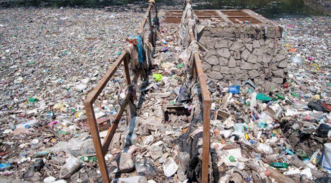 CDMX: En Álvaro Obregón, convierten la presa Becerra en basurero (unotv.com)