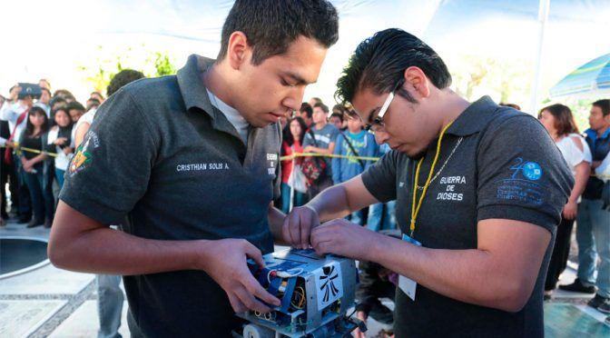 Puebla: Desarrolla universitario robot submarino que mide contaminación en cuerpos de agua (El sie7e)