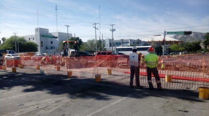 Coahuila: cierran tramo de la Colón por Metrobús (El Siglo de Torreón)