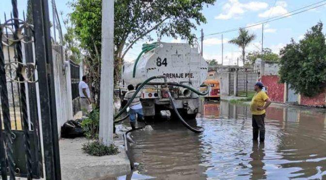 Mérida: Lluvia del miércoles superó promedio mensual de precipitaciones; inician trabajos de desagüe (Novedades Yucatán)