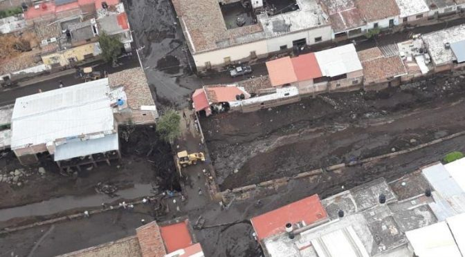 Jalisco: Red de agua en San Gabriel, totalmente destruida; anuncian reconstrucción (Informador)