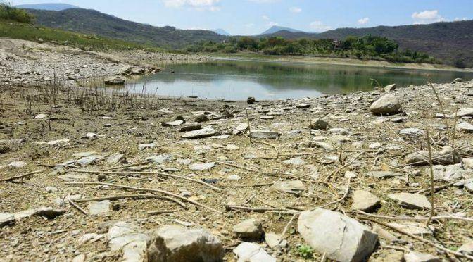 Querétaro: bajos, niveles de la presa de Jalpan (Diario de Querétaro)