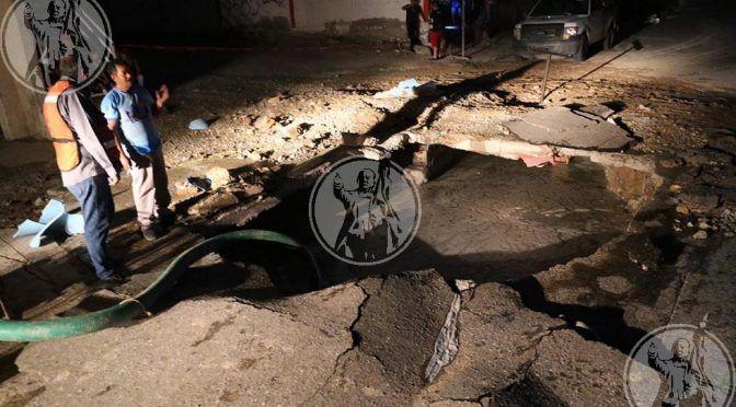 Isla Tiburón: Al menos seis casas inundadas por mega fuga de agua (El Diario)