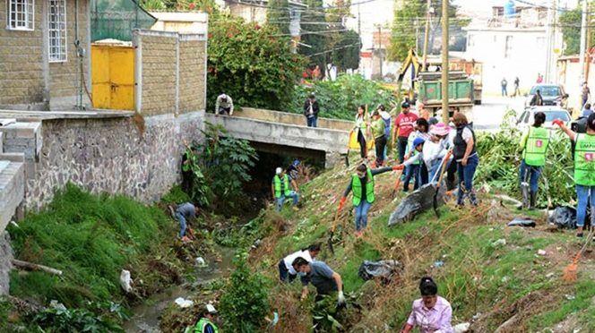 EDOMX: Utilizan canales en Ixtapaluca… como basureros (Excelsior)