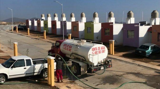 Zacatecas: Los colonos de los Tepetates sufren por la falta de agua  (Zacatecas en imagen)