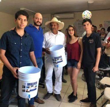 Ciudad Obregón: Llevan jóvenes filtros para purificar agua a colonia Las Areneras (El Imparcial)