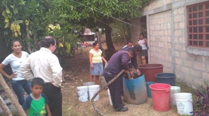 Tabasco: cumplen 15 días sin agua potable (Tabasco Hoy)