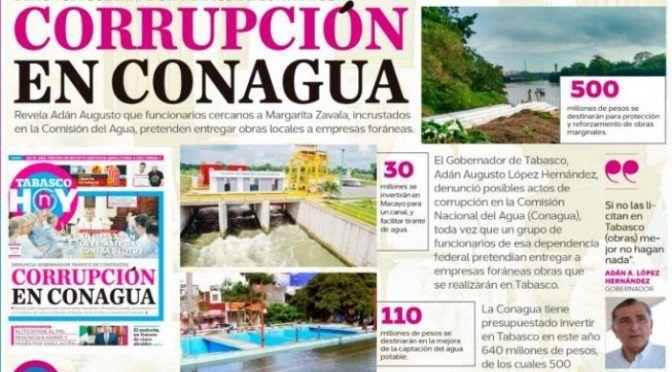 Coahuila: Corrupción en Conagua (Tabasco Hoy)