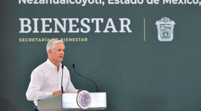 EDOMEX: Del Mazo asegura que mejorarán distribución y red de agua potable en Nezahualcóyotl (24 horas)
