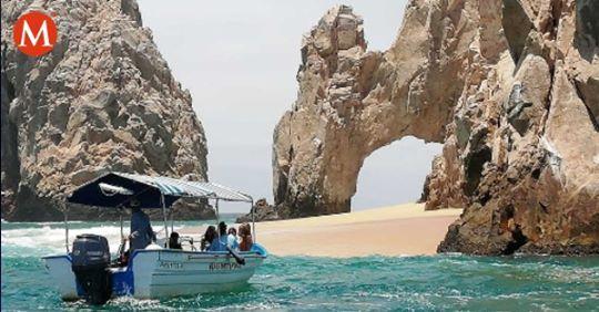 Baja California Sur: Se forma playa debajo de Los Cabos; ocurre cada 4 años (MILENIO)