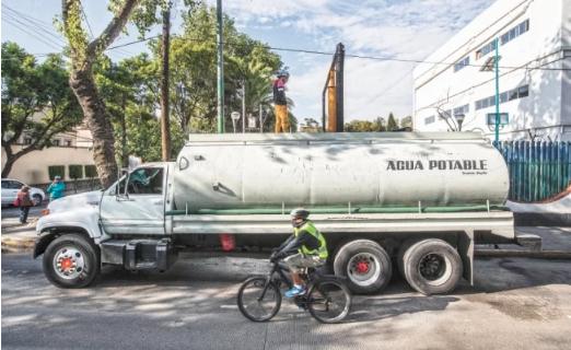 CDMX: Pega escasez de agua en Coyoacán antes de obras (El Universal)