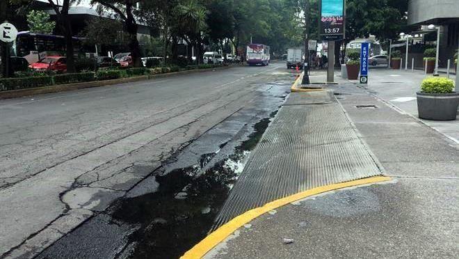 CDMX: Improvisa Parques Polanco drenaje (Reforma)