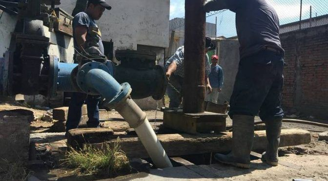 """Hidalgo: """"Agua si está turbia, pero no contaminada""""(El Sol de Hidalgo)"""