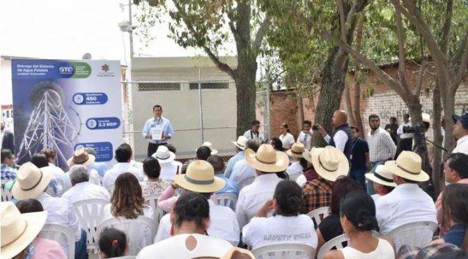 Guanajuato: Entrega gobernador Sistema de Agua Potable en comunidad de Jaral del Progreso ( Zona Franca)