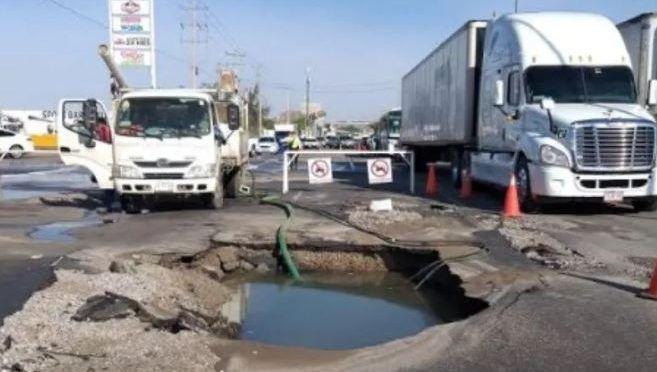 Hermosillo: Estas colonias son afectadas por reparación de fuga de agua (El Imparcial)