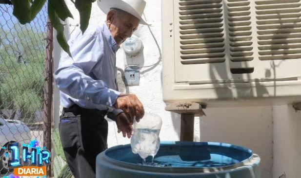 Sonora: Tienen tres semanas batallando por agua (El Imparcial)
