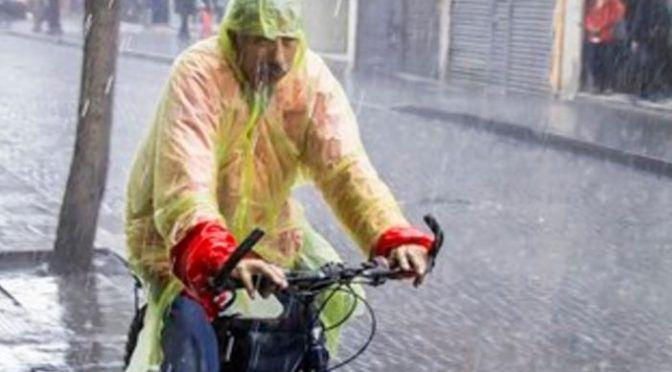 CDMX: Se presenta lluvia fuerte en la alcaldía Gustavo A Madero (adn40)