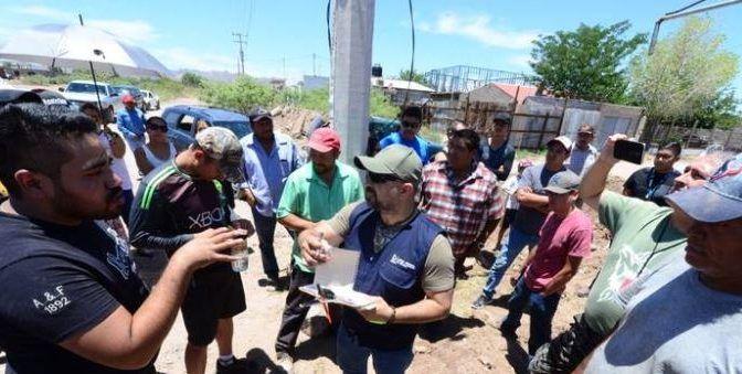 Chihuahua: Impiden vecinos que la JMAS les corte el agua (El Heraldo de Chihuahua)