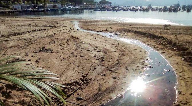 Guerrero: descargas de aguas negras afectan la llegada de turistas a zona tradicional (El Sol de Acapulco)