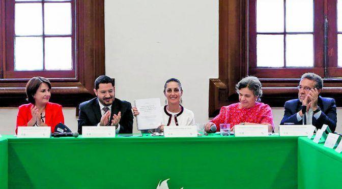 CDMX: Senado y Gobierno buscan atender mantos acuíferos (24 horas)