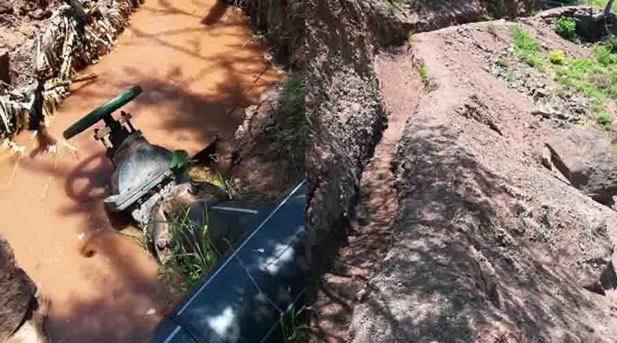 Oaxaca: En época de estiaje riegan cultivos de la Mixteca con agua potable (Imparcial)