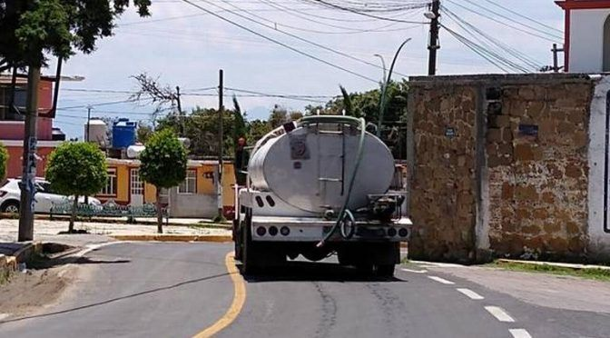 Tlaxcala: Cuauhtelulpan, otra vez sin agua potable (El Sol de Tlaxcala)