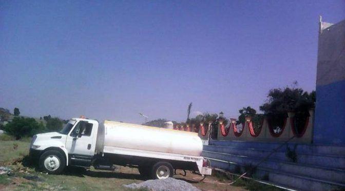 Tlaxcala: Hueyotlipan, primero en vender agua tratada (El Sol de Tlaxcala)