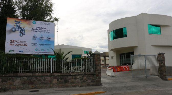 San Luis Potosí: La quiebra de Interapas ¿Industria sin agua? (Pulso)