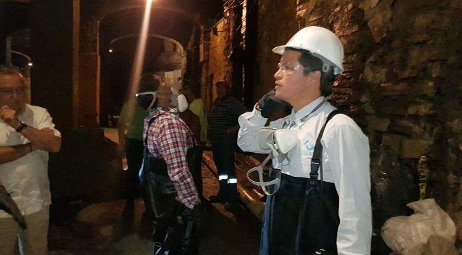 Guanajuato: Rehabilita el Simapag colector en Subterránea (Periódico correo)