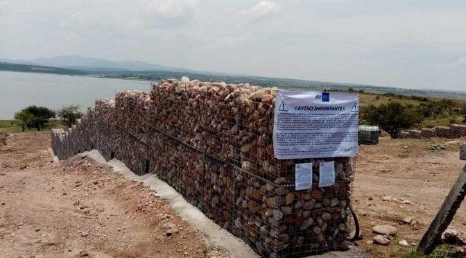 Guanajuato: Detienen construcción en la Presa de la Purísima (Periódico correo)