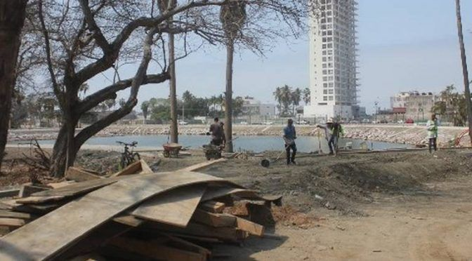 Sinaloa: Convierten en lago artificial la Laguna del Camarón (El Sol de Sinaloa)
