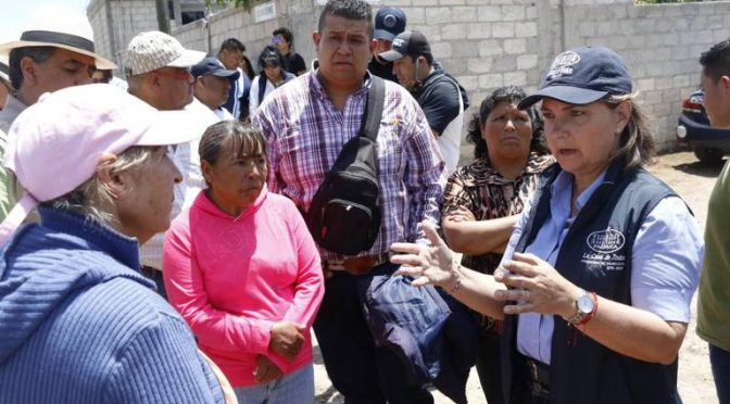 Hidalgo: llevan drenaje y agua potable a zonas vulnerables de Pachuca (El Sol de Hidalgo)