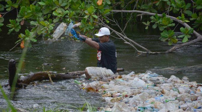 El Salvador: El río Grande de San Miguel agoniza por los desechos plásticos (El salvador)