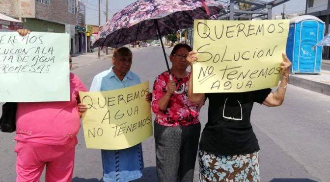 Coahuila: obras del Metrobús, ajenas a la falta de agua en Nueva Aurora (Noticias del Sol de la Laguna)