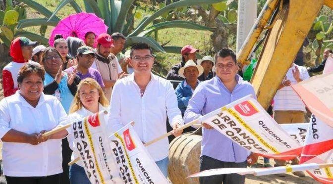 Puebla: rehabilita Ayuntamiento de Quecholac red de agua en Villanueva (El Sol de Puebla)