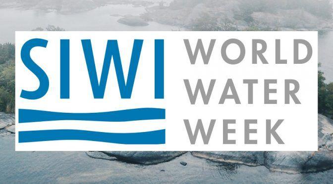 Semana mundial del agua 2019