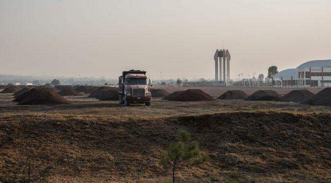 Estado de México: Extracción de agua y minería: preocupaciones ambientales de habitantes de Santa Lucía por aeropuerto (animal olítico)p