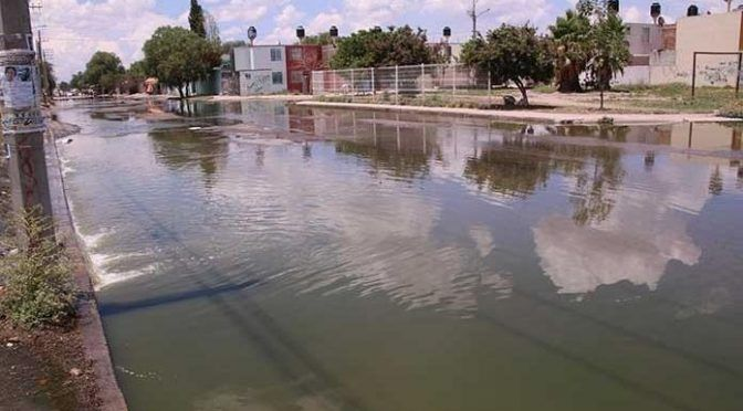 San Luis Potosí: aguas negras en Prol. Moctezuma invaden hogares (Pulso SLP)