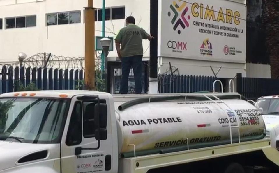 CDMX: Inicia corte de agua en tres alcaldías; alistan entrega de pipas (Milenio)