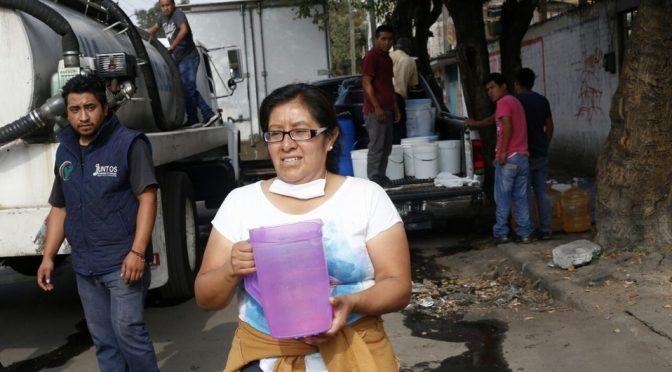 Nuevo León: reparten 16 mil 720 raciones de agua (Milenio)