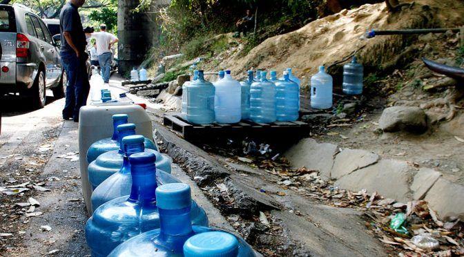 Venezuela: Hidrocapital solo surte 35% de agua en Caracas (El Universal)